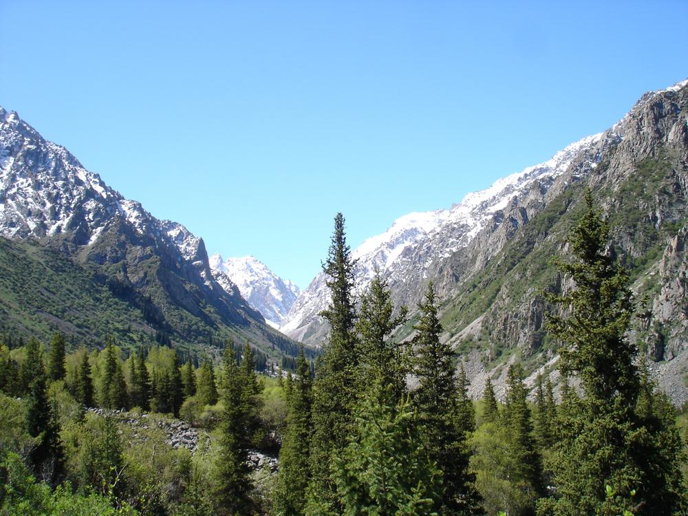 Ala-Archa-gorge