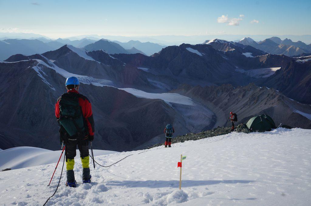 Альпинисты Ак-Сай