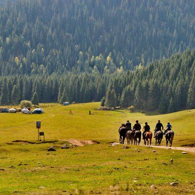 Kyrgyzstan and Mongolia