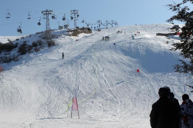 Skiing-Orlovka