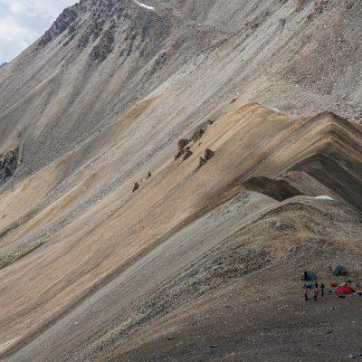 Китайский перевал и половина подъема на Астану