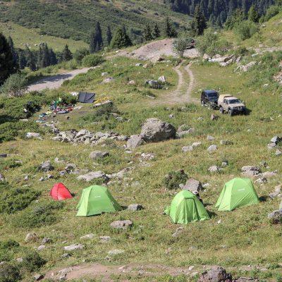 Лагерь в Туюксу