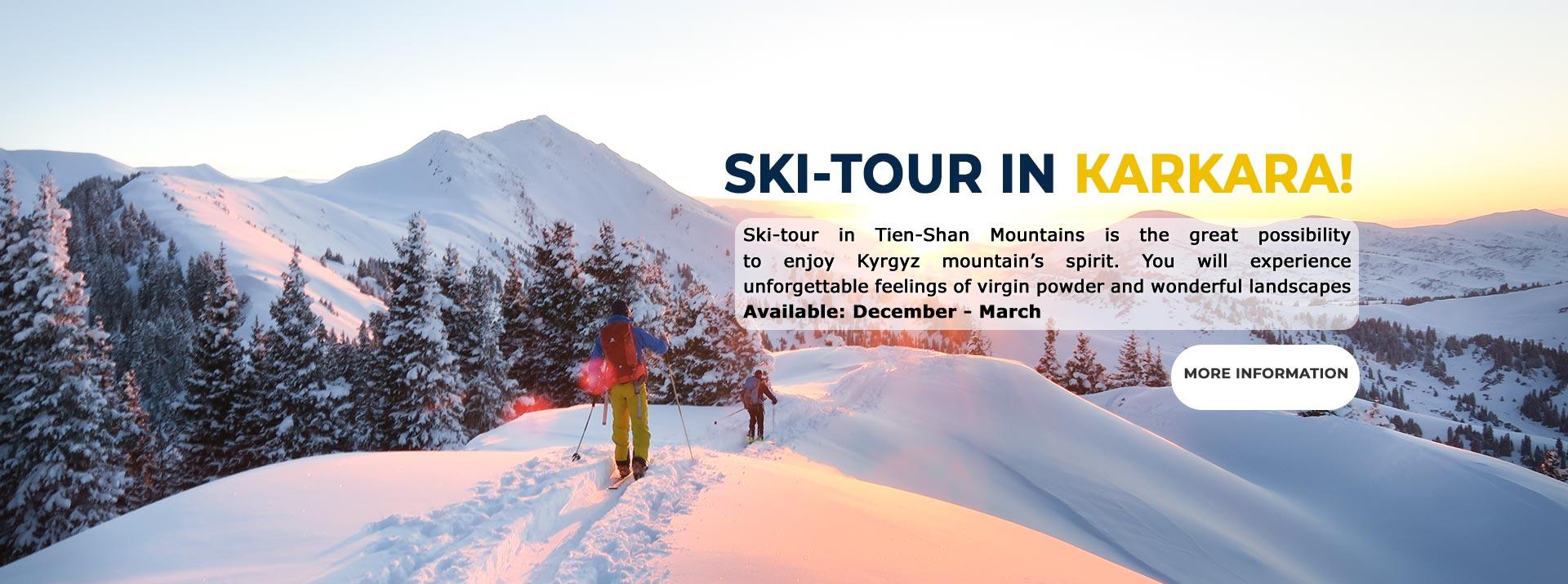 Ski-tour in Kyrgyzstan