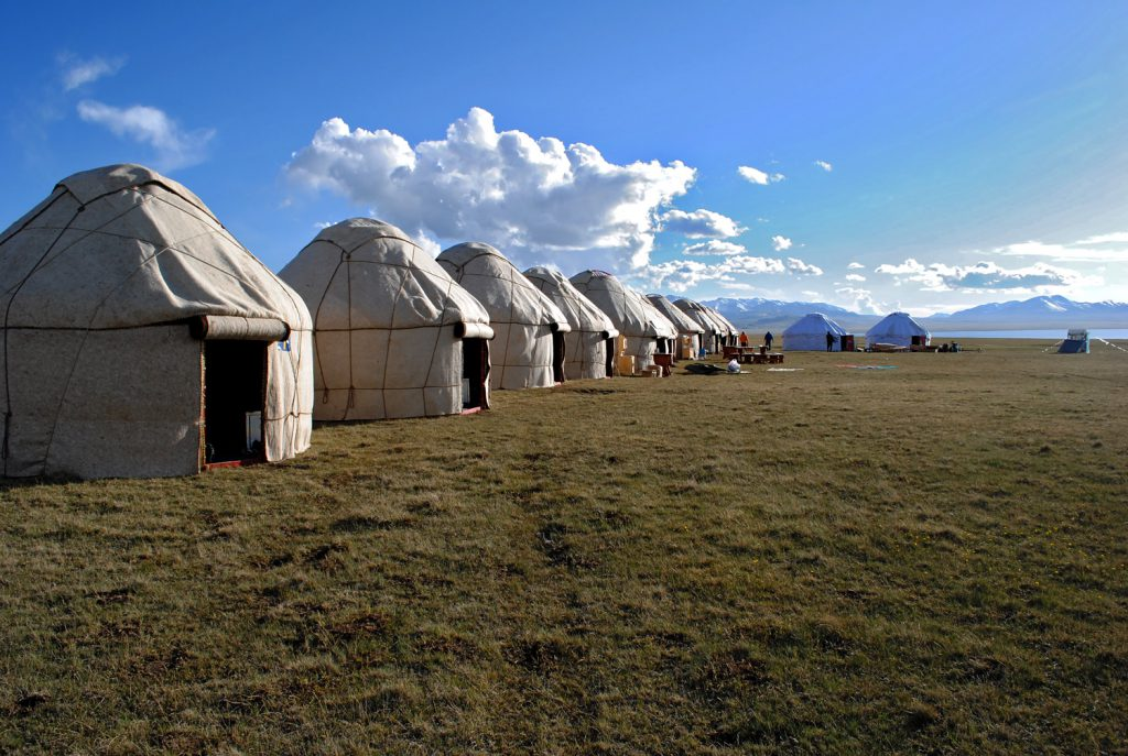 Son Kul yurt camp