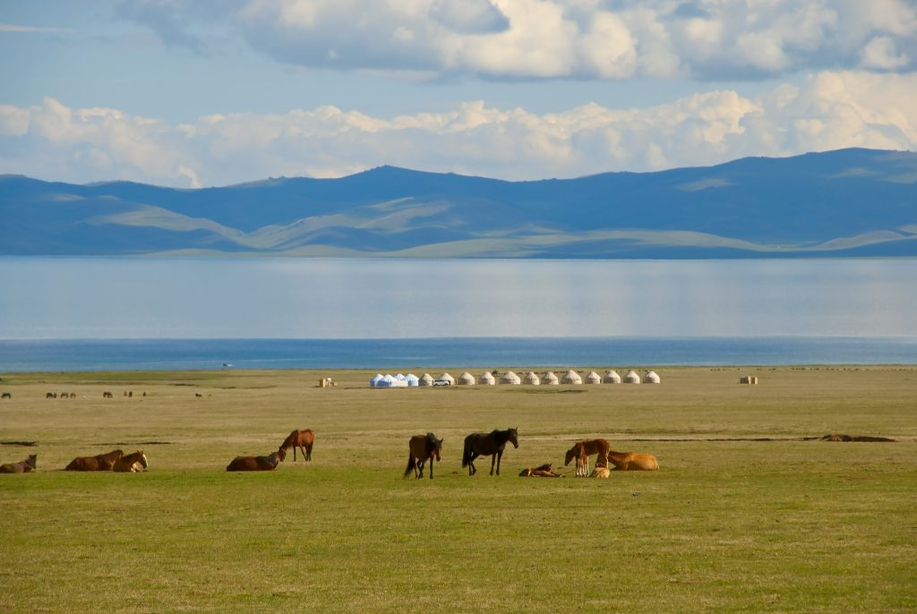 son kul lake